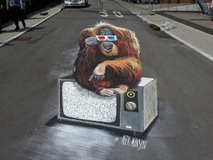 Street art festival in Blumberg, Germany