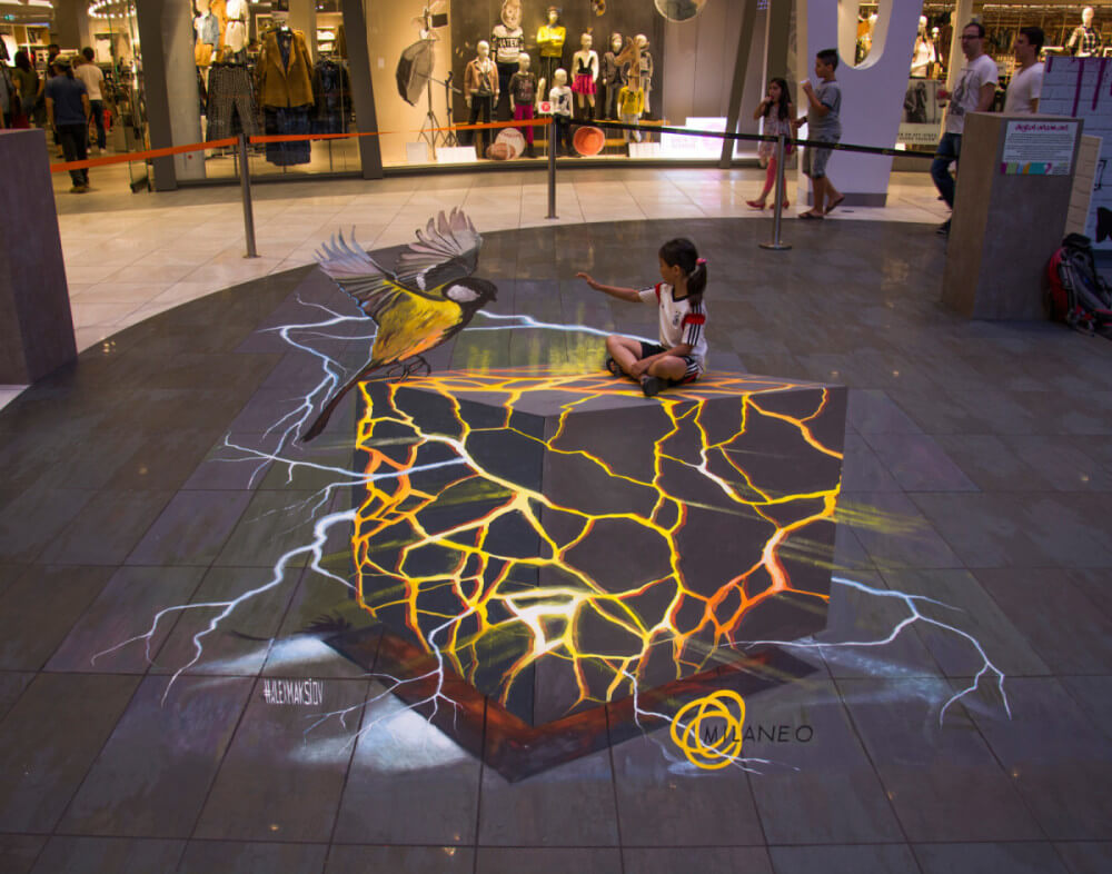 3d street painting for dummies or how to do 3d anamorphic