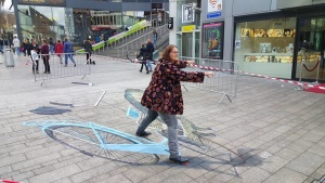 Street art festival in Netherlands