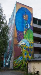 """Mural """"Envy"""" for UGANGprosjektet"""