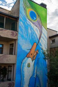 "mural ""Envy"" in Drammen"