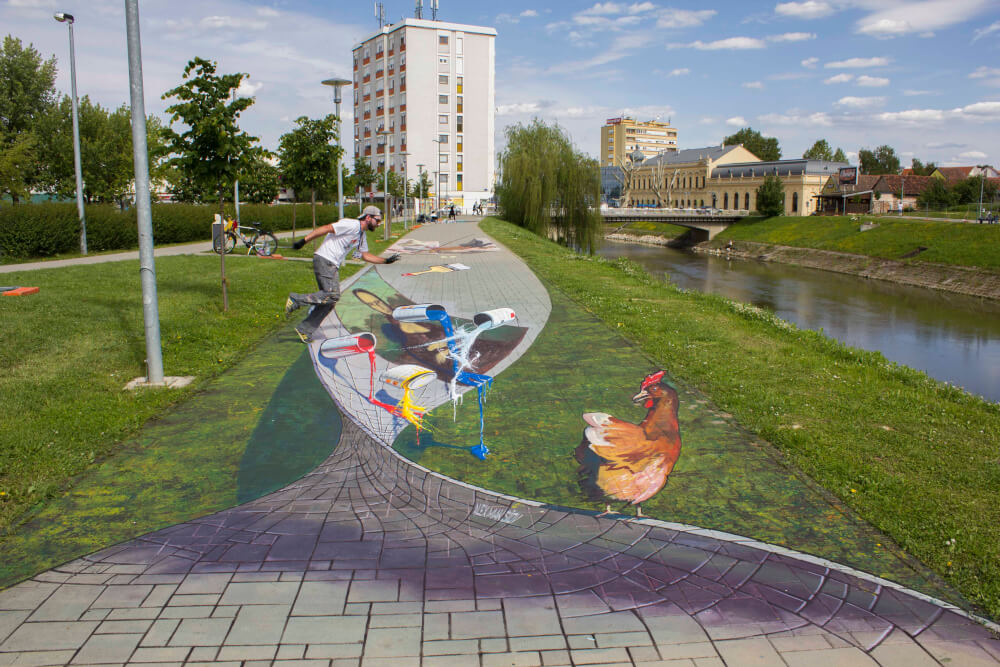 VukovArt 3d street painting festival
